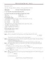 Vật Lý 10 Bài 1 Chuyển Động Cơ