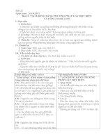 Tiết 22 Bài 19. TẠO GIỐNG BẰNG PHƯƠNG PHÁP GÂY ĐỘT BIẾN  VÀ CÔNG NGHỆ GEN.