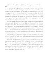 Phân tích nhân vật Phương Định trong Những ngôi sao xa xôi