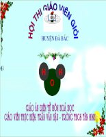 Tiet 18 Phan ung hoa hoc