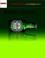 heineken case study business analysis