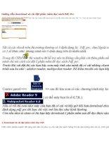 Hướng dẫn download và cài đặt phần mềm đọc sách Pdf