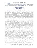 BÀI VIẾT TLV SỐ 1 2 (Lớp 10)
