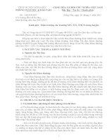 Số: 158/PGDĐT ngày 16/5/2011 v/v hướng dẫn xét thi đua, khen thưởng năm học 2010   2011