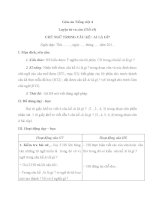 Giáo án tiếng việt 4 tuần 25 bài luyện từ và câu   chủ ngữ trong câu kể ai là gì