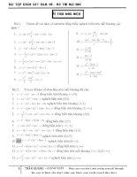 Bài tập khảo sát ôn thi đại học (edited)