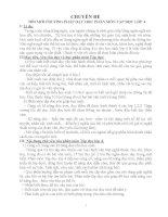 ĐỔI MỚI PHƯƠNG PHÁP DẠY HỌC PHÂN MÔN TẬP ĐỌC LỚP 4
