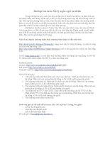 Bài tập lớn môn xử lý ngôn ngữ tự nhiên