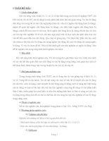 MỘT SỐ THỦ THUẬT GIẢI CÂU TRẮC NGHIỆM CÓ NGHĨA BỊ ĐỘNG
