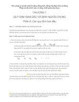 Hiệp định đối tác xuyên Thái Bình Dương (TPP) Full dịch tiếng việt. CHƯƠNG 1 QUY ĐỊNH BAN ĐẦU VÀ ĐỊNH NGHĨA CHUNG