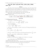 Bài tập Tính toán khí thực trên công trình thủy lợi (đề số 35)