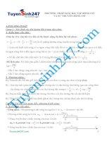Phương pháp giải bài tập sóng cơ và sự truyền sóng