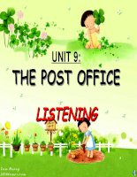 Unit 9: The Post Office   Listening