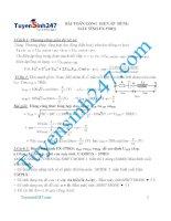 Bài toán cộng điện áp dùng máy tình FX 570ES