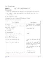 Giáo án tiếng việt 5 tuần 14 bài chính tả nghe,viết chuỗi ngọc lam