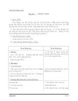 Giáo án tiếng việt 5 tuần 11 bài tập đọc tiếng vọng