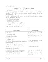 Giáo án tiếng việt 5 tuần 13 bài tập đọc người gác rừng tí hon