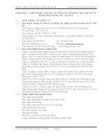 THIẾT KẾ MÔN HỌC PHÂN TÍCH HOẠT ĐỘNG KINH TẾ CÔNG TY CỔ PHẦN XÂY DỰNG KINH DOANH ĐỊA ỐC TÂN KỶ