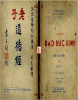 Lao Tu Dao Duc Kinh