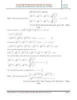 Tuyển tập hệ phương trình có giải chi tiết