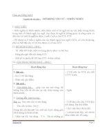 Giáo án tiếng việt 5 tuần 8 bài luyện từ và câu mở rộng vốn từ thiên nhiên