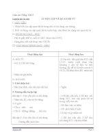 Giáo án tiếng việt 5 tuần 13 bài luyện từ và câu luyện tập về quan hệ từ