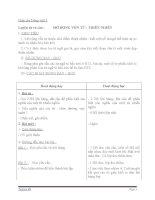 Giáo án tiếng việt 5 tuần 9 bài luyện từ và câu mở rộng vốn từ thiên nhiên