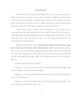 HOÀN THIỆN CHÍNH SÁCH LÃI XUẤT CỦA NGÂN HÀNG NHÀ NƯỚC VIỆT NAM VỚI ỔN ĐỊNH KINH TẾ VĨ MÔ