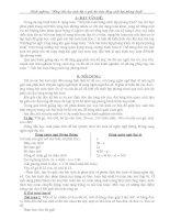 Hướng dẫn HS lớp 8 Giải bài toán bằng cách lập phương trình