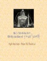 Đồ Thị Hàm Số y=ax(a#0)(D 9 Tiet 48)