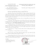 CV 108 về bồi dưỡng tin học cho MN