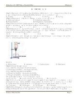 Đề thi thử môn hóa MClass số 9