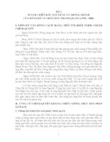 Lịch sử Đảng bộ xã Thanh Quang (trích)