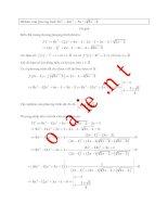 Nguồn gốc và cách xử lý cho một bài phương trình vô tỷ