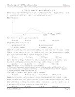 Đề thi thử môn hóa MClass số 5