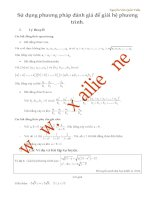 Phương pháp đánh giá giải hệ phương trình  nguyễn văn quốc tuấn