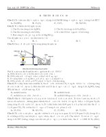 Đề thi thử môn hóa MClass số 10