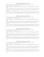 Bài tập dành cho học sinh giỏi khối 4( Toàn 5)