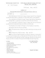 THÔNG TƯ Ban hành Điều lệ hội thi giáo viên dạy giỏi cấp học mầm non