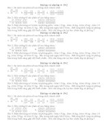 Bài tập về nhà dành cho học sinh giỏi khối 4( Toàn )