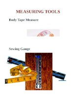 sewing tools   vocabulary