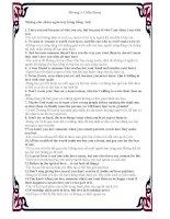 Những câu châm ngôn hay bằng Tiếng Anh