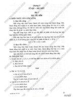 Giải bài tập toán 11 Chương Tổ hợp  Xác suất