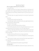 Bài văn mẫu lớp 10: Cảm nhận về một bài thơ hoặc một nhà thơ