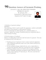 garments washin gimran personal 90 questions answers of garments washing