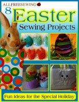 Easter sewing projects ebook