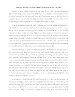 Phân tích nhân vật Ngô Tử Văn trong Chuyện chức phán sự đền Tản Viên