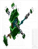 bản vẽ 3d thiết kế hộp giảm tốc  bánh răng   trục vít  có bản vẽ đi kèm để lại tin nhắn nhận bản vẽ