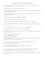 Bài tập về đường tròn