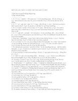 Một số cấu trúc Tiếng Anh cơ bản trong chương trình THPT